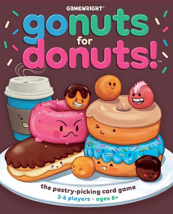 Gamewright Go Nuts For Donuts