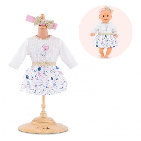 Corolle Dolls Birthday Outfit Set for Baby