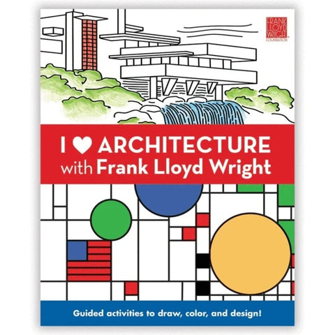 Mudpuppy Activity Book - I Love Architecture