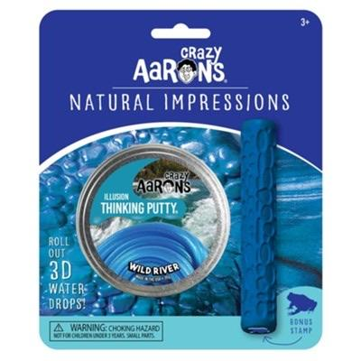 Crazy Aaron's Thinking Putty Natural Impressions - Wild River