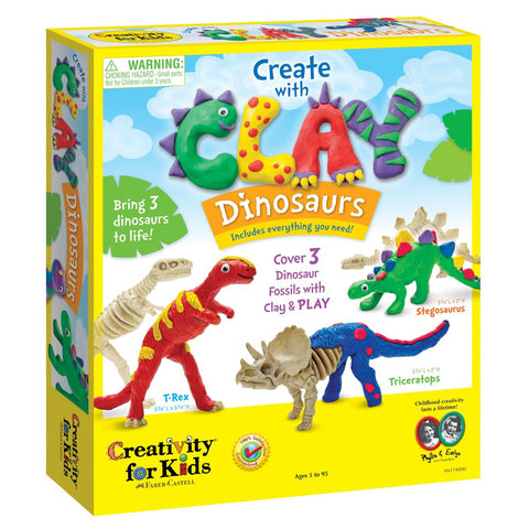 Creativity for Kids: Create with Clay Dinosaurs