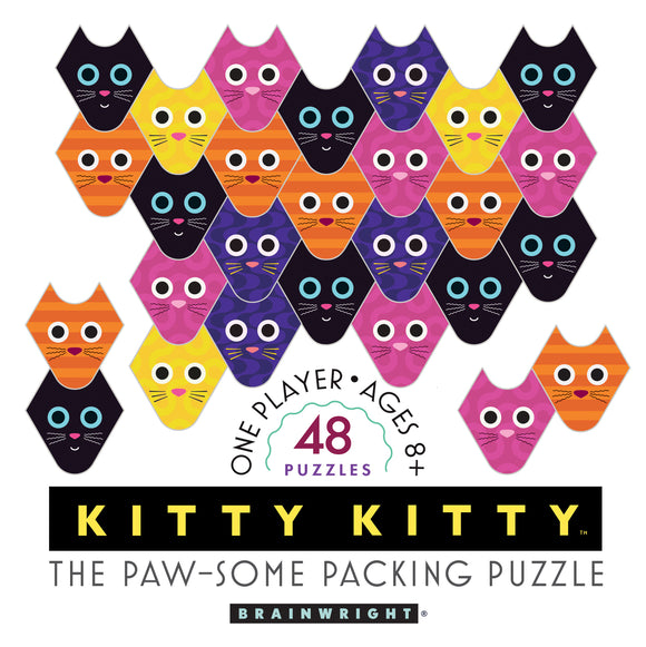 Brainwright Kitty Kitty: The Paw-some Packing Puzzle