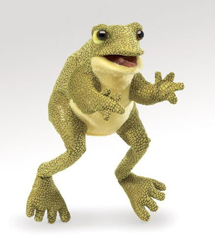 Folkmanis Funny Frog