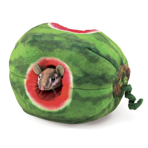 Folkmanis Chipmunk in Watermelon Puppet
