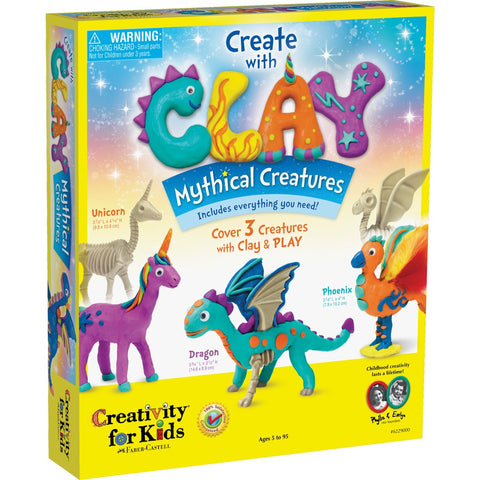 Creativity for Kids: Create with Clay Mythical Creatures