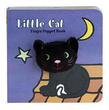 Little Cat Finger Puppet Board Book