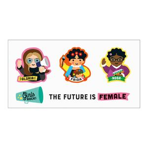 Mudpuppy Little Feminist Temporary Tattoos