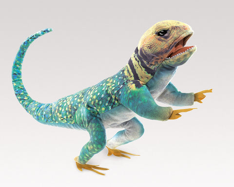 Folkmanis Collared Lizard