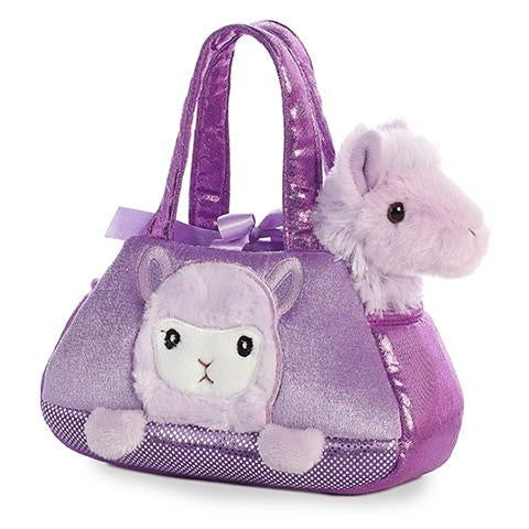 Aurora Fancy Pals Peek-A-Boo Llama Purple