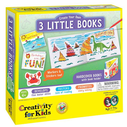 Creativity for Kids: Create Your Own 3 Little Books