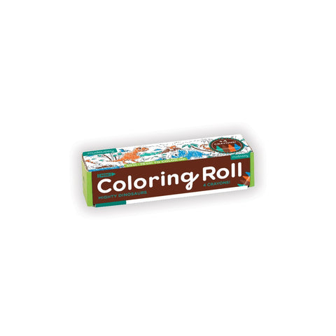 Mudpuppy Mini Coloring Roll Mighty Dinosaurs