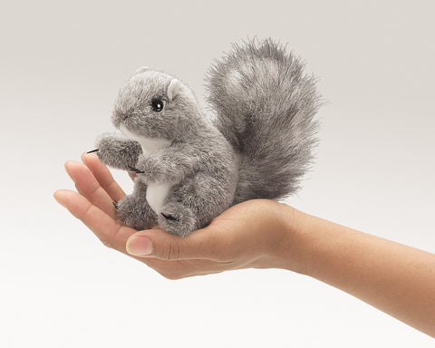 Folkmanis Mini Gray Squirrel