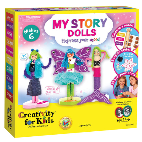 Creativity for Kids: My Story Dolls