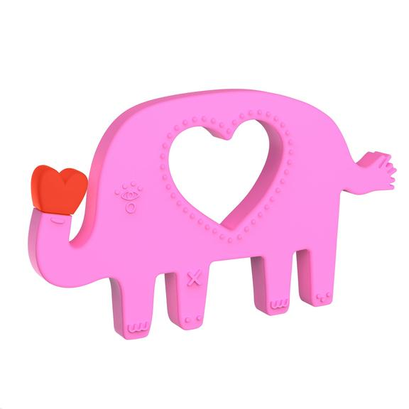 Manhattan Toy Silicone Teether Elephant