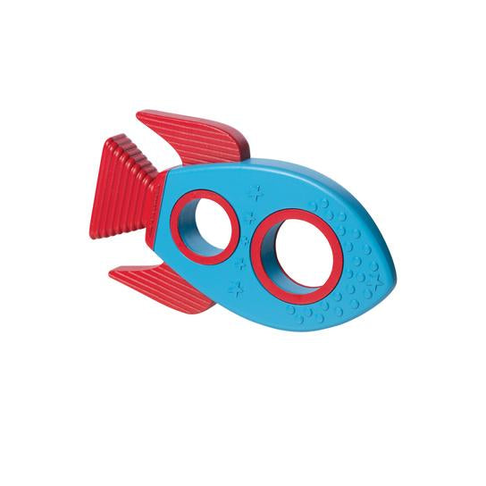 Manhattan Toy Silicone Teether Rocket