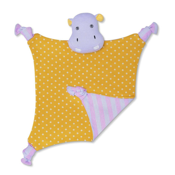 Apple Park Organic Farm Buddies Blankie – Coco Hippo