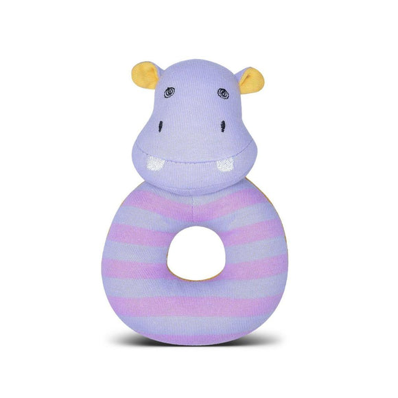 Apple Park Organic Farm Buddies Rattle – Coco Hippo