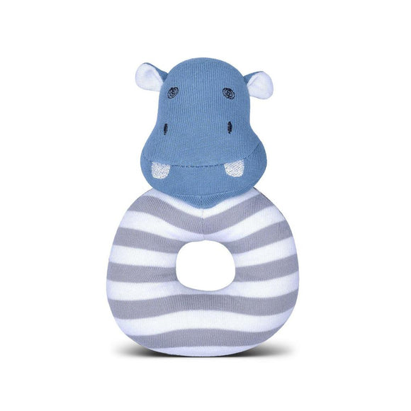 Apple Park Organic Farm Buddies Rattle – Jojo Hippo