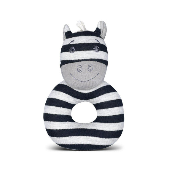 Apple Park Organic Farm Buddies Rattle – Ziggy Zebra