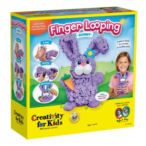 Creativity for Kids: Finger Looping - Bunny