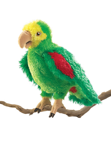 Folkmanis Amazon Parrot