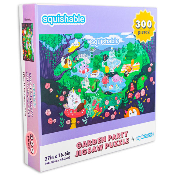 Squishable 300 Piece Garden Party Puzzle
