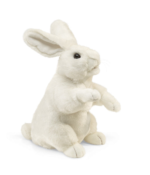 Folkmanis Standing White Rabbit