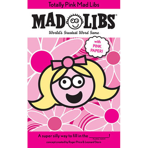 Mad Libs Totally Pink