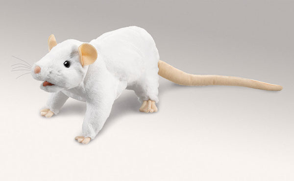 Folkmanis White Rat