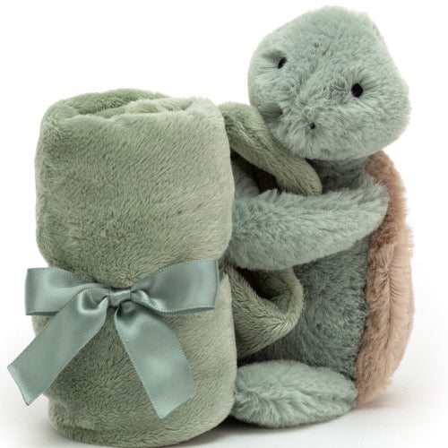 Little Jellycat Bashful Turtle Soother