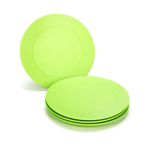 Green Eats Green Snack Plates