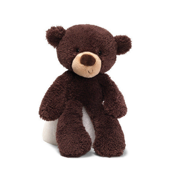 Gund Fuzzy Bear Chocolate