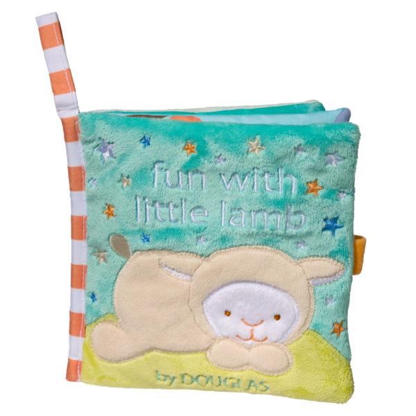 Douglas Baby Lamb Soft Activity Book