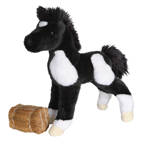 Douglas Runner Black and White Paint Foal