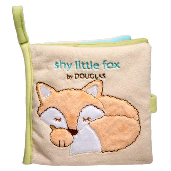 Douglas Baby Fox Soft Activity Book 6