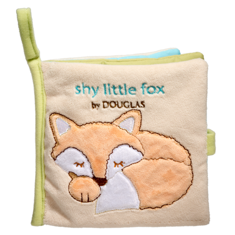 Douglas Baby Fox Soft Activity Book