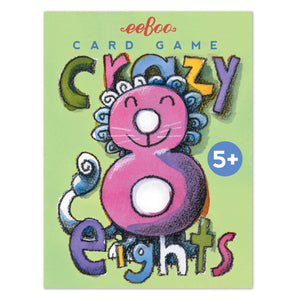 eeBoo Card Game Crazy Eights