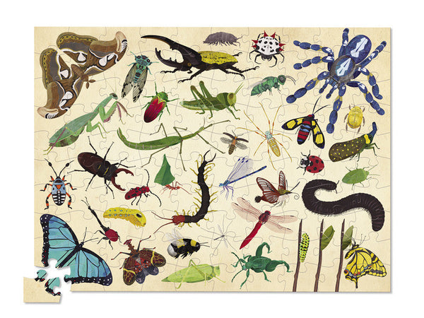 Crocodile Creek Thirty-Six Insects Puzzle