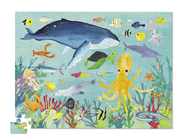 Crocodile Creek Thirty-Six Ocean Animals Puzzle