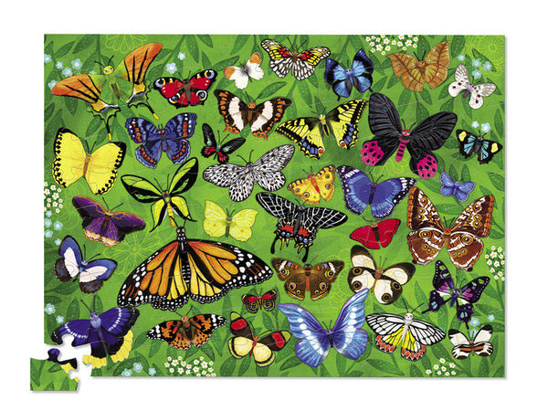 Crocodile Creek Thirty-Six Butterflies Puzzle