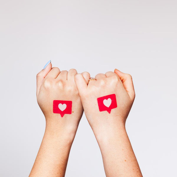 Tattly Digital Besties Tattoo