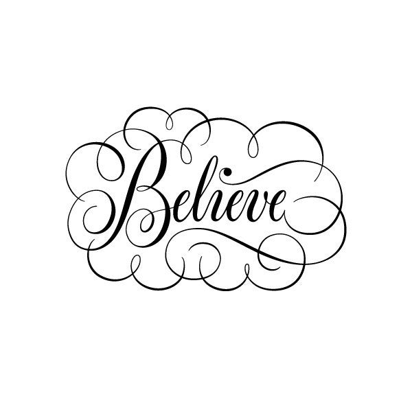 Tattly Believe Tattoo
