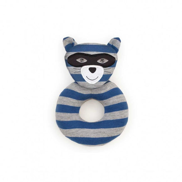 Apple Park Organic Farm Buddies Rattle – Robbie Raccoon