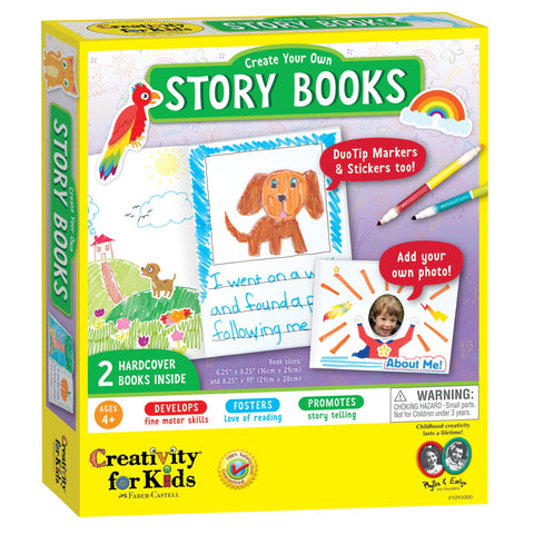 Creativity for Kids: Create Your Own Story Books