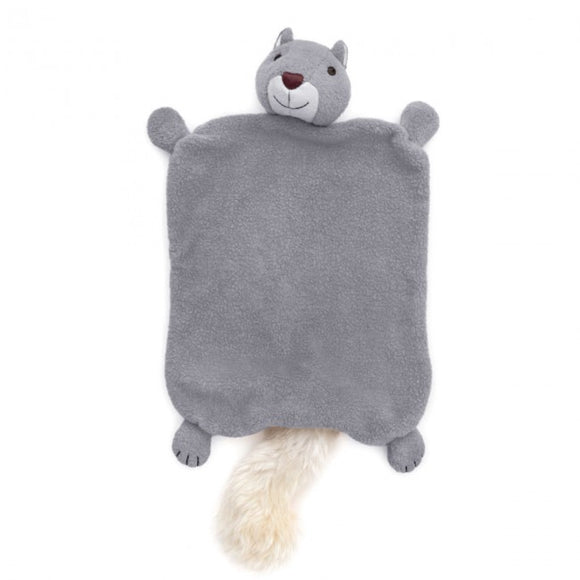 Apple Park Organic Cotton Blankie – Squirrel