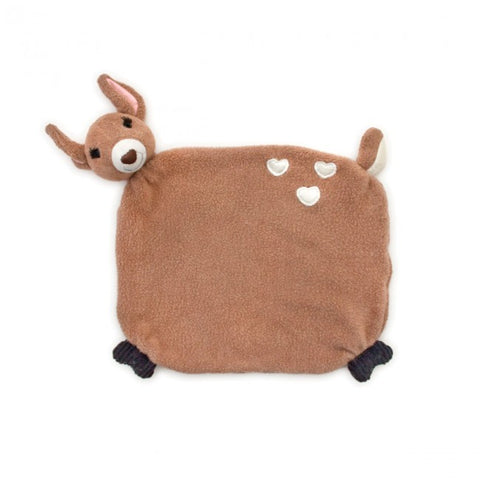 Apple Park Organic Cotton Blankie – Fawn