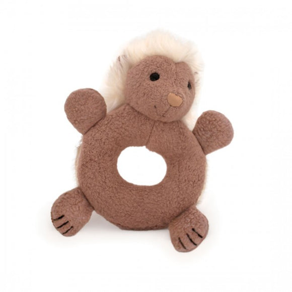 Apple Park Organic Teething Rattle – Porcupine