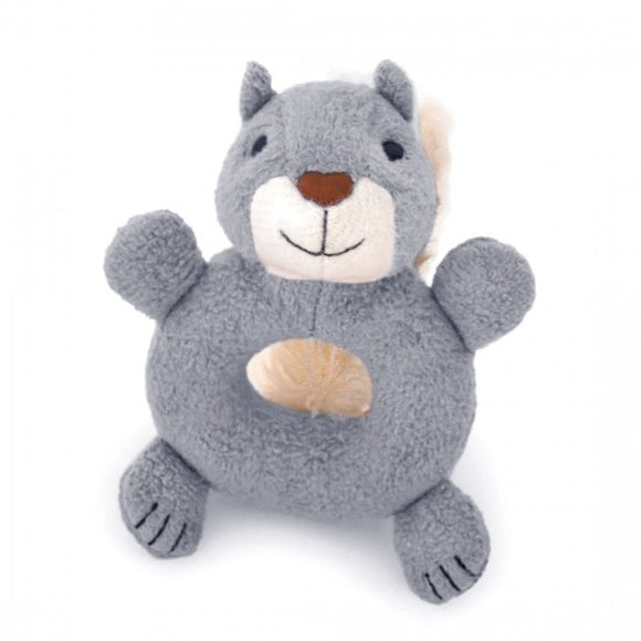 Apple Park Organic Teething Rattle – Squirrel