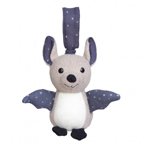 Apple Park Organic Cotton Stroller Toy – Bat