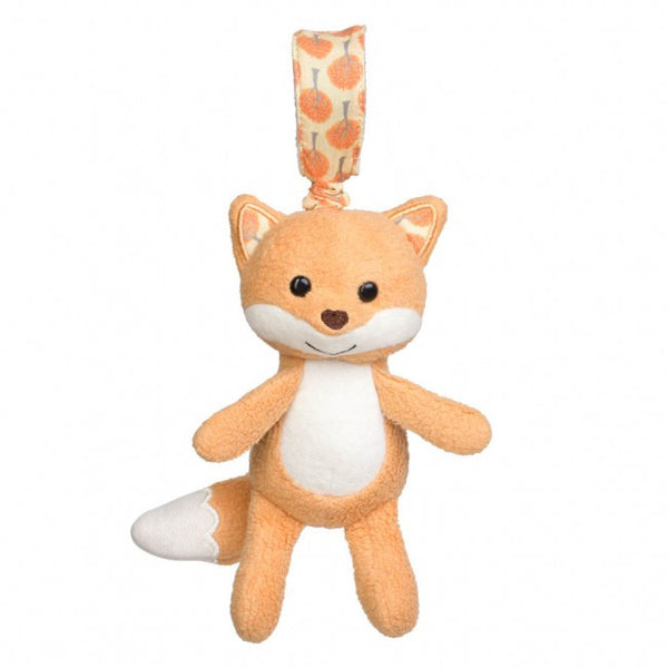 Apple Park Organic Cotton Stroller Toy – Fox